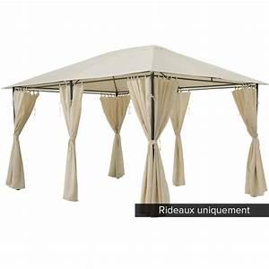 Tonnelle 4 X 3 : rideau pour tonnelle achat vente pas cher ~ Edinachiropracticcenter.com Idées de Décoration
