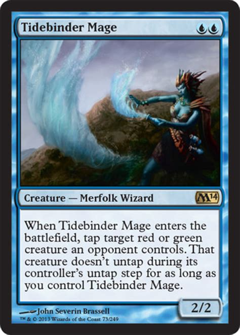 mtg merfolk deck standard channel fireball tidebinder mage magic singles