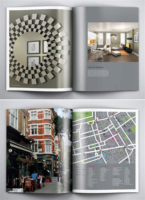 Real Estate Brochure Design Inspiration by A Collection Of Creative Real Estate Brochure Design