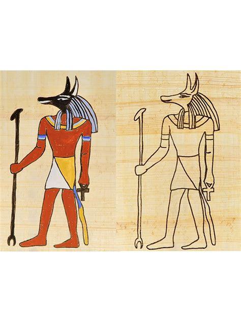 malvorlagen anubis aegypten unterrichtsmaterial