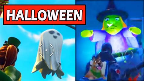 halloween decorations island moved fortnite cube