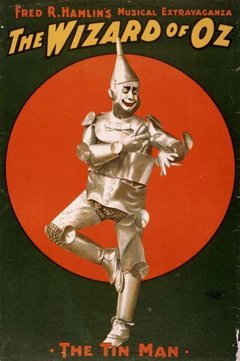 tin poster wizard oz woodman movie broadway posters hamlin movies wikipedia tinman character musical heart classic fred prints baum frank