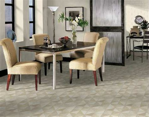 Tile Flooring Ideas For Dining Room by Dining Room Areas Flooring Idea Trilenium By Armstrong