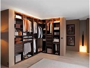 Porte Dressing Sur Mesure : meuble penderie chambre armoire portes battantes avec ~ Premium-room.com Idées de Décoration