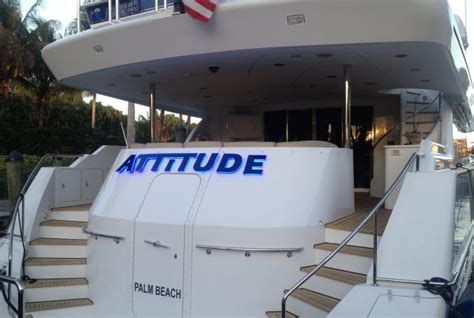 Boat Lettering In Fort Lauderdale by Signs Of Reilly Business Signage Fort Lauderdale