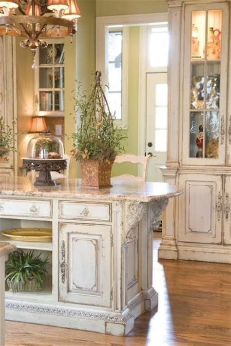 kitchen furniture cabinets picture of shabby chic whitewashed kitchen island and cabinets