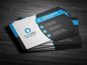 Business card template psd designs for corporates and for Corporate business card template