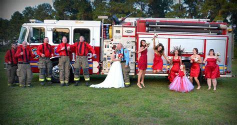 A Firefighter's Wedding