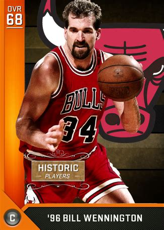 bill wennington  nba  myteam bronze card