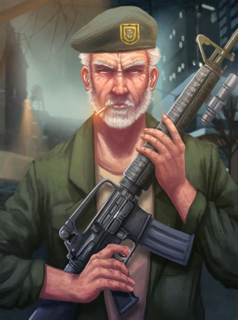 Left 4 Dead - Bill Overbeck by JohnPolts on Newgrounds