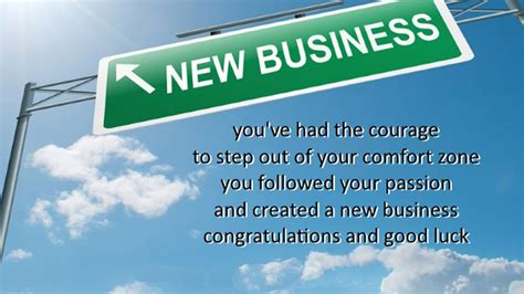 New business congratulations messages are sent to the business owner on initiating and establishing a new business. Good Luck Wishes For New Business, Entrepreneurs ...
