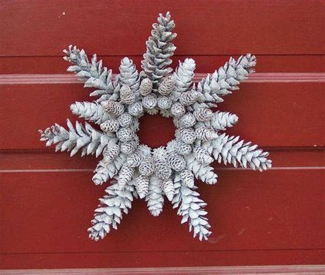 pine cones recycled crafts