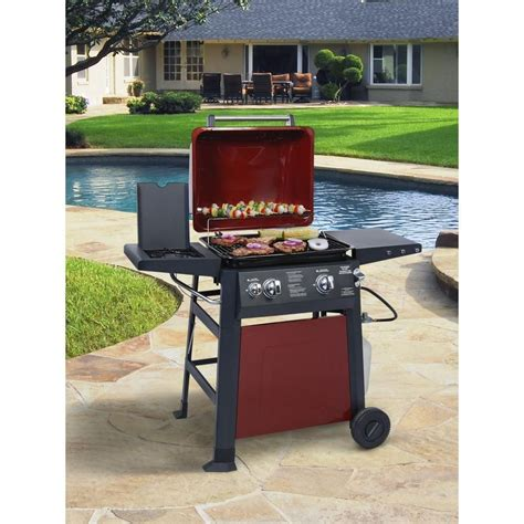 Brinkmann Backyard Kitchen by Brinkmann Ranger 2 Burner Propane Gas Grill 810 4220 S At