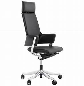 Fauteuil Cuir Bureau : fauteuil de bureau ergonomique vip design en cuir noir ~ Teatrodelosmanantiales.com Idées de Décoration