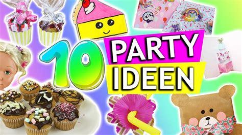 10 geburtstag deko 10 diy ideen kindergeburtstag diys geschenkideen zum geburtstag deko diy