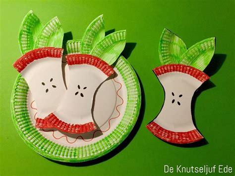 fruit knutseltips knutsel een appel knutselwerkje