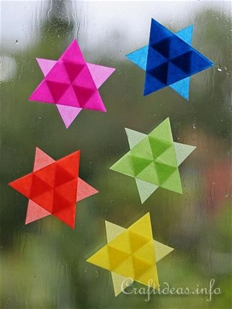christmas craft projects paper crafts mini stars