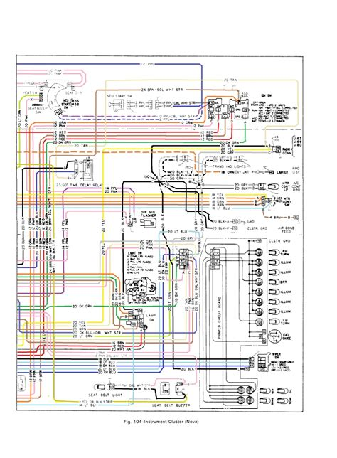 1972 Chevy Ignition Switch Wiring Diagram by 1972 Chevy C10 Dash Cluster Wiring Diagram Wiring Library