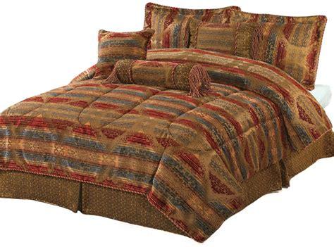 7 piece queen florence chenille comforter set ebay