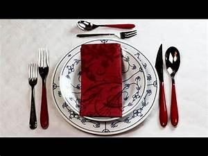 Tisch Richtig Eindecken : tipp tisch richtig eindecken youtube ~ Lizthompson.info Haus und Dekorationen