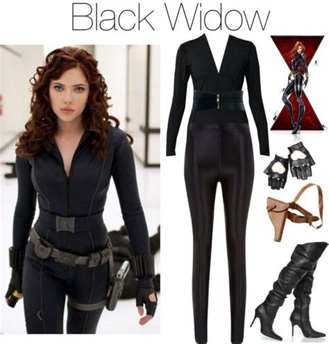 U0026quot;black widowu0026quot; by grungeclothes liked on Polyvore | Halloween Things We Love | Pinterest | Black ...