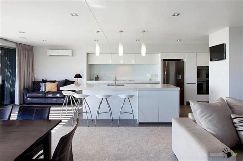Ideas Of Kitchen And Living Room In One Place For