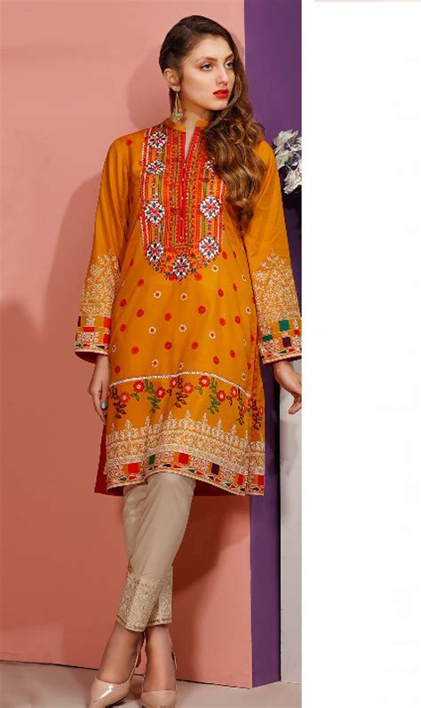 lawn collection orient  pc kurti lawn collection