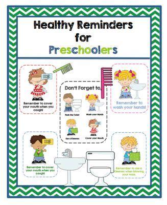 free healthy reminders for preschoolers from preschool 841 | 47f32efc605aaf00b8ac869d4899685f