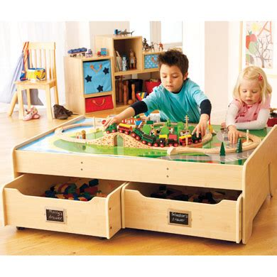 Children's Play Tables With Storage  Ohio Trm Furniture