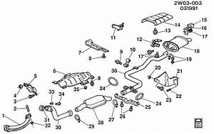 Pontiac Grand Prix Hanger  Catalytic Converter  Exhaust