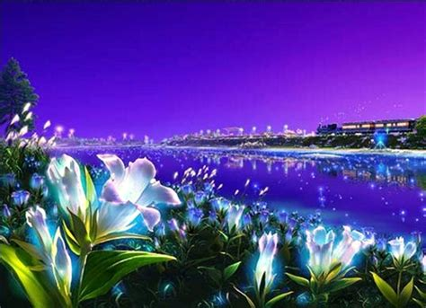 750x1334 beautiful 3d flower cg lighting flowers 3d and cg abstract background