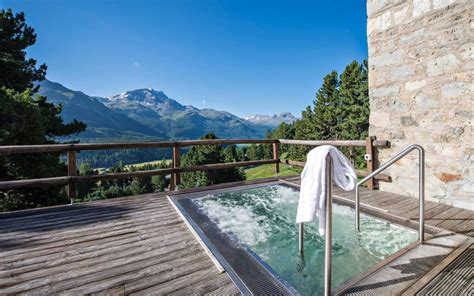 Wellness, SPA, Meditation in St. Moritz, Schweiz