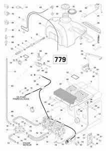 Ski Doo 1996 Mach - Z Lt  2   Fuel System 779