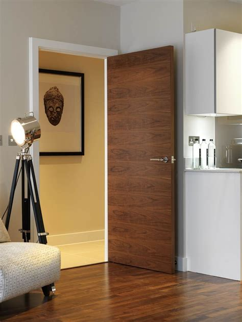 flush interior wood doors style 25 best ideas about contemporary doors on