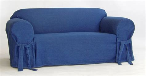 Blue Denim Loveseat by True Denim Blue Jean Cotton Washable Sofa Loveseat Chair