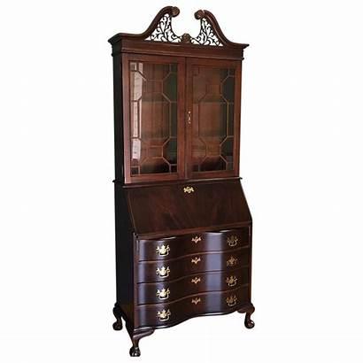 Secretary Desk Jasper Cabinet Company Mahogany Chairish
