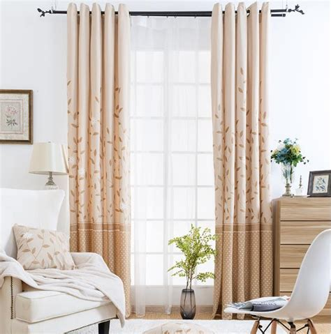 Block out curtains otherwise referred to as black out curtains are designed to retain heat during the colder months and block out light during hotter seasons. Leaf Printed Chenille Color Block Neutral Curtains