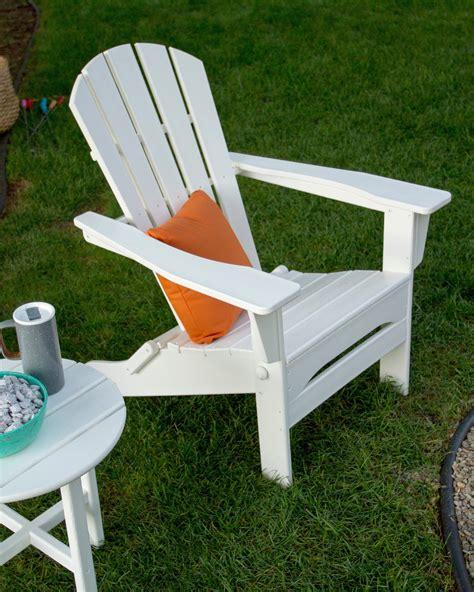 Polywood Ultimate Adirondack Chair W Pullout Ottoman