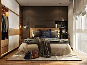 Aménagement Petite Chambre : am nagement petit espace 24 photos de chambres design ~ Melissatoandfro.com Idées de Décoration