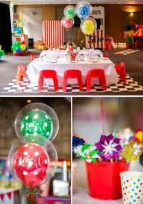 centerpieces for baby shower girl kara 39 s party ideas circus carnival boy girl 5th birthday