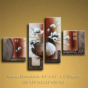 Enchant large panels wall art for office decor
