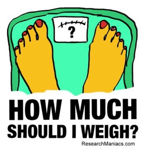 How Much Should I Weigh?