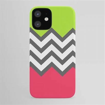 Blocked Chevron Iphone Case Society6