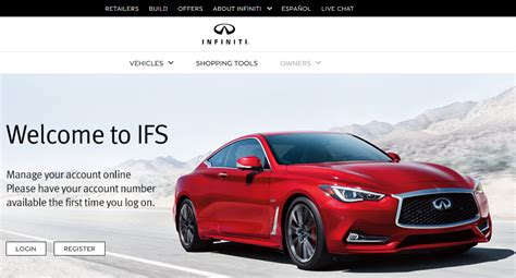wwwinfinitifinancecom infiniti financial services bill