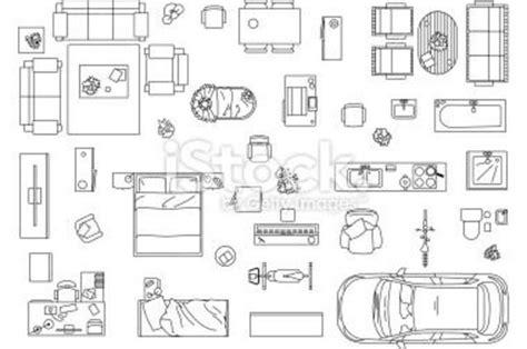 floor plan furniture symbols
