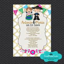 coral wedding programs mexican invitations wedding gold invitaciones de boda