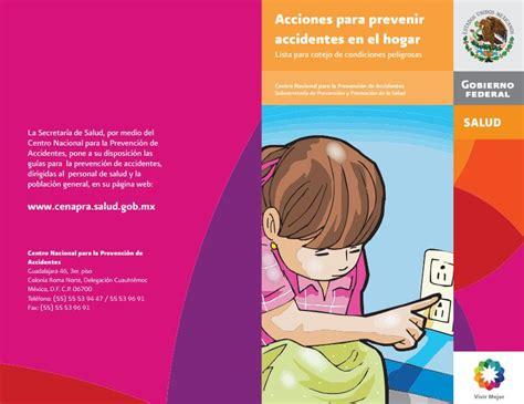 folleto de prevencin de accidentes folleto de prevencin de accidentes prevenci 243 n de