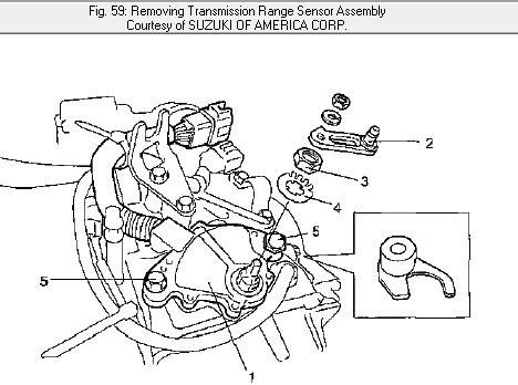 Diagram For Suzuki Aerio That Has The Transmission