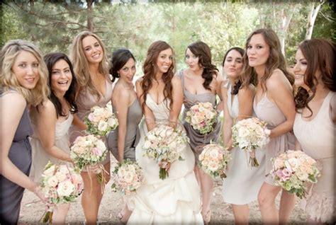 Wedding Dresses Ideas : Different Bridesmaid Dress Ideas And Photos
