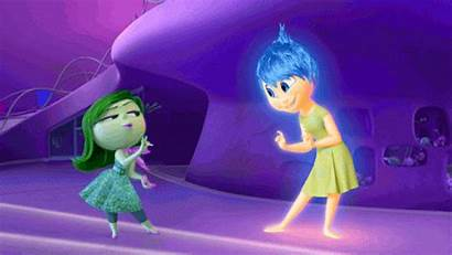 Inside Joy Disgust Pixar Insideout Picsart Dis